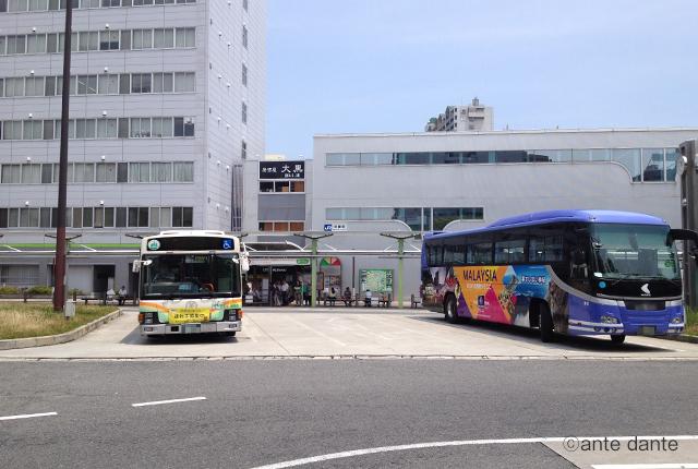 JR尼崎駅 巨大 看板 史跡 街道 案内