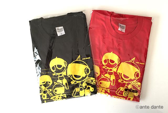 イベントTシャツデザイン ロボカップジュニア ante dante