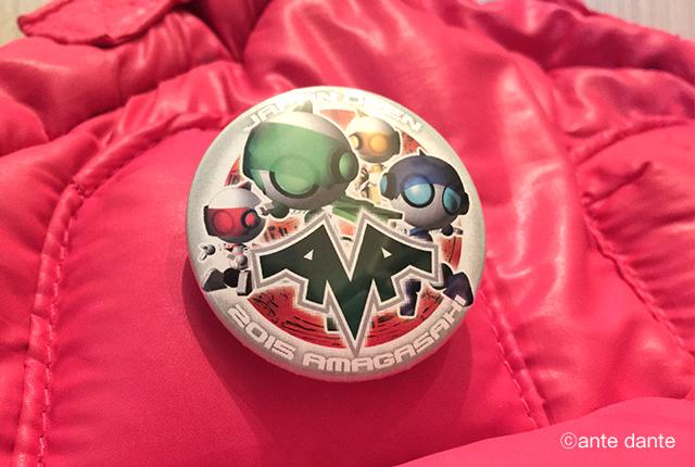イベントグッズ デザイン 缶バッジ キャラクター ロゴ ロボカップジュニア ante dante