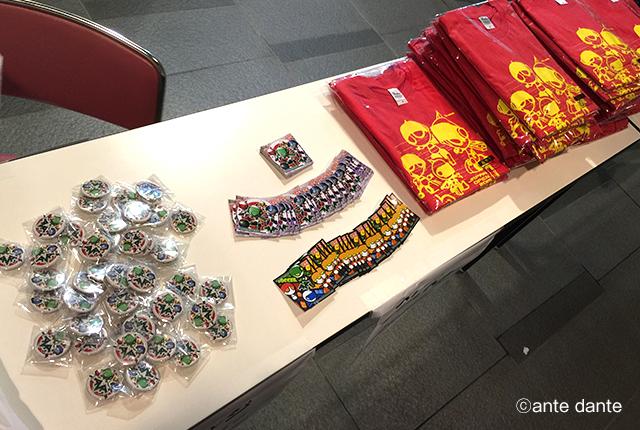 グッズデザイン Tシャツ 缶バッジ ステッカー イベント ブース ロボカップジュニア ante dante