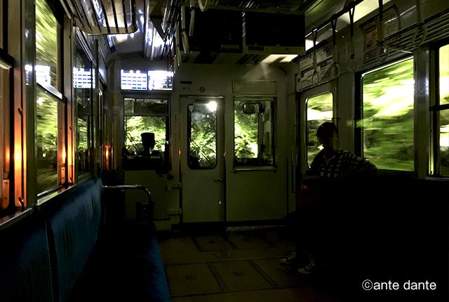 叡山電車 ライトアップ