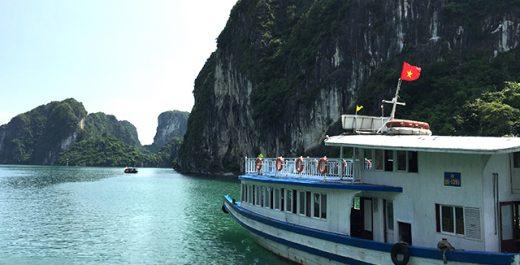 ベトナム 世界遺産 ハロン湾クルーズ