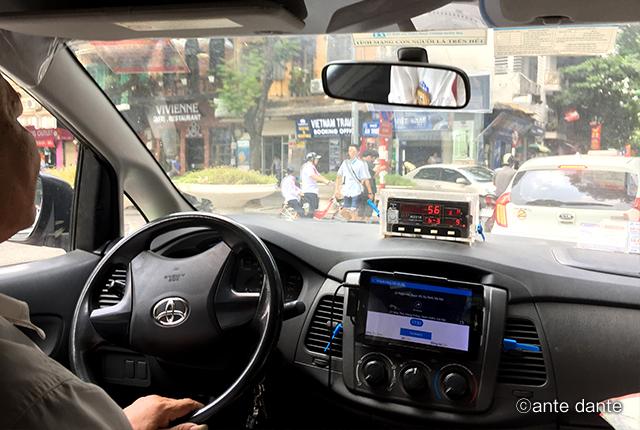 ベトナム タクシー