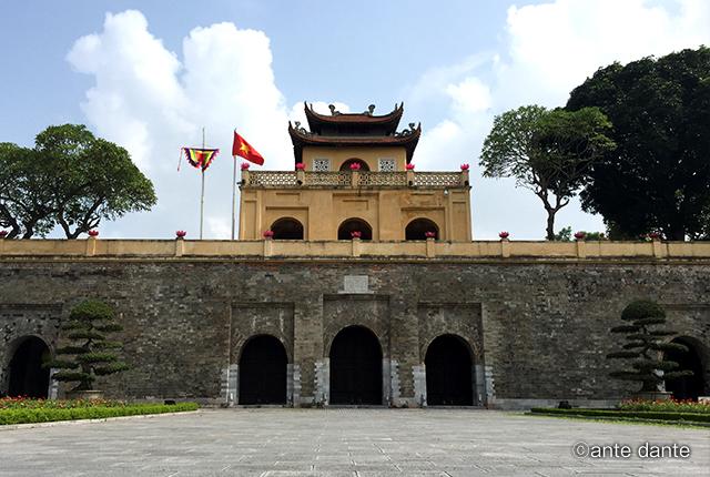 ベトナム ホーチミン タンロン王城遺跡
